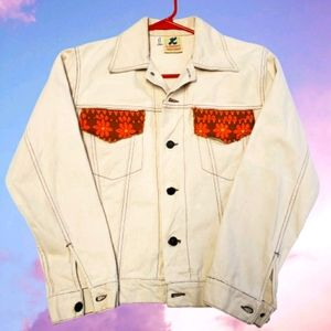 Vintage KEYSTONER'S WESTERN CASUALS Denim Jacket